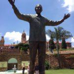 Mandela Statue at the Union Buildings