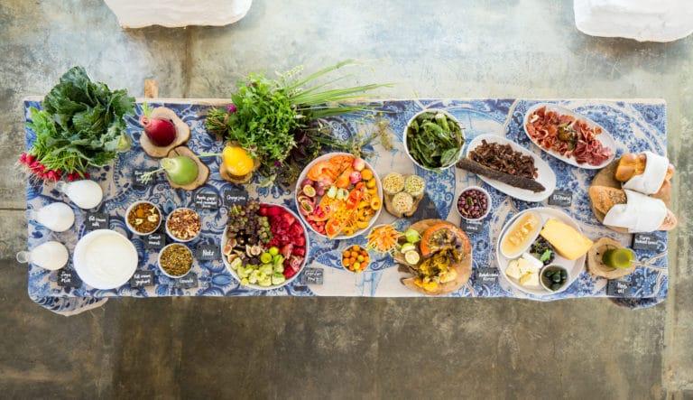 The harvest table- Babel Restaurant