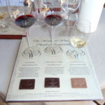 Waterford Chocolate and wine pairing
